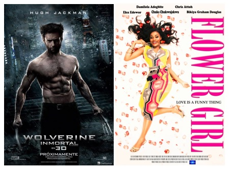 Wolverine earned in box office terms 2.5 times more than Flower Girl in 2013