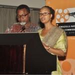 Mahmood Ali-Balogun Head of the Nigerian Delegation and Jackie Motsepe KwaZulu Natal Film Commission