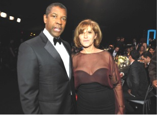 Denzel & former Sony Pictures chairwoman Amy Pascal