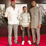 1. Idris Elba, Abraham Attah and Writer Uzodinma Iweala son of former Finance Minister Ngozi Okonjo-Iweala