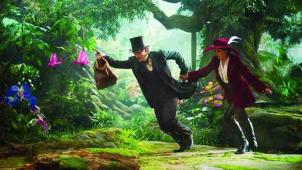 Analytics: statisticians crunched an early treatment of the box office success Oz the Great and Powerful.