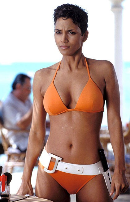Halle Berry in James Bond's Die Another Day